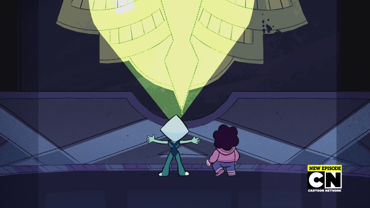 Kate nepveu steven universe s02e24 it could 39 ve been great for Yellow diamond mural